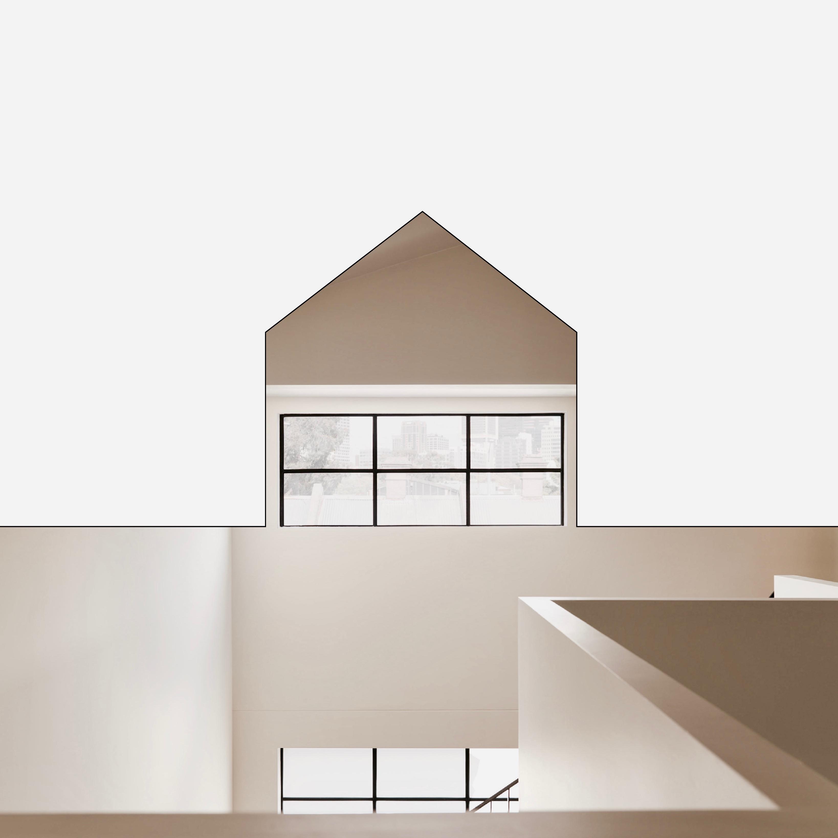 Gezellig House Illustrated Design with shading