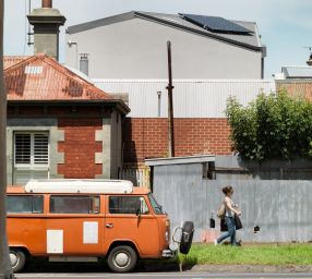 North Fitzroy context. Roof line.