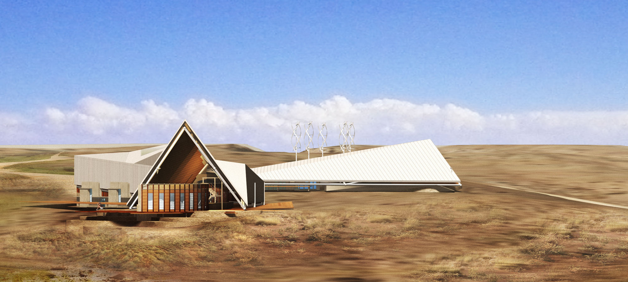 Ningaloo Resort - Rendering of Competition Entry
