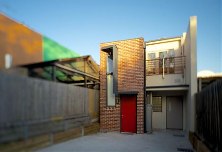Di Mase Architect North Fitzroy Hawthorn Shop House Project Red Door