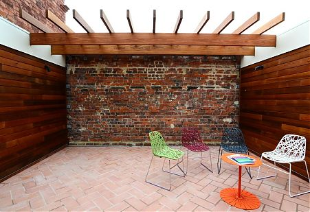 Di Mase Architect Hawthorn Shop House Timber Pergola