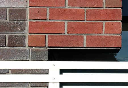 North Fitzroy Extension - photo of brick wall detail
