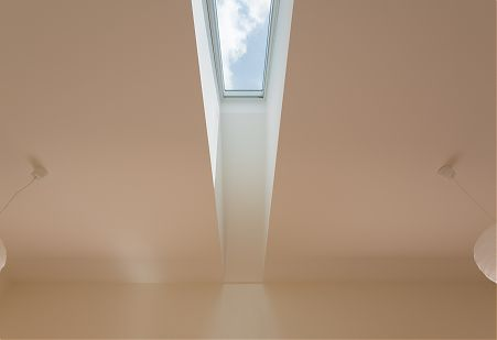 Slot Skylight in Ceiling