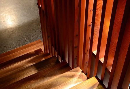 Timber stair detail