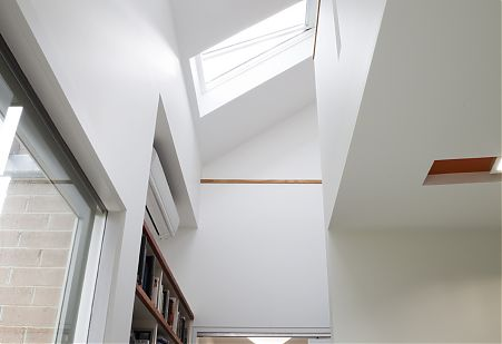 Double Height skylight space