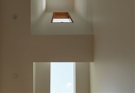ceiling space skylight