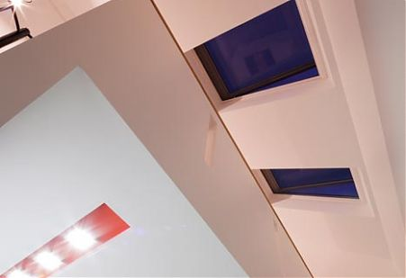 St Kilda Extension - photo of recessed light fittings