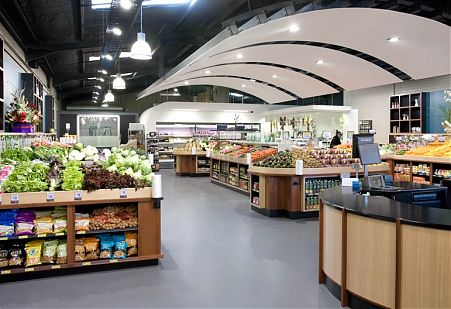 Melba Fresh Retail Food Store Fit Out in West Brunswick by Di Mase Architects in Melbourne