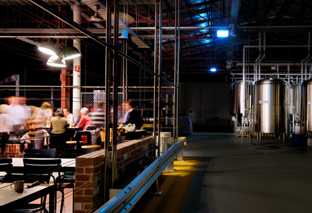 Matilda Bay Brewers Canteen designed by Di Mase Architects, Melbourne Based Designers